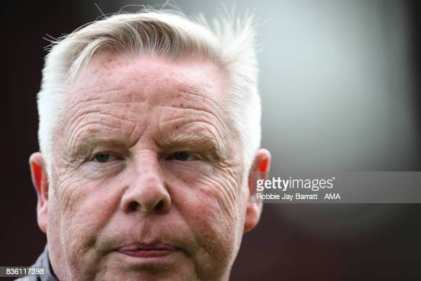 Sammy Lee assistant head coach / manager of Crystal Palace during the Premier League match between Liverpool and Crystal Palace at Anfield on August...