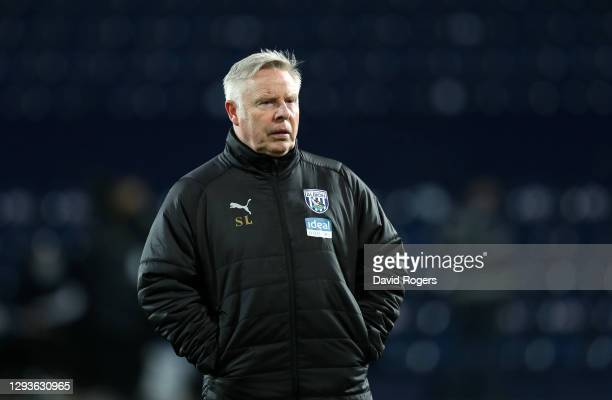 Sammy Lee, First Team Coach of West Bromwich Albion looks on prior to the Premier League match between West Bromwich Albion and Leeds United at The...