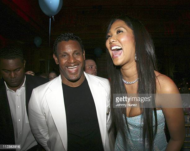 Sammy Sosa and Kimora Lee Simmons during Russell Simmons' 2nd Annual Art for Life Benefit at Mar a Lago - Day 2 at Mar a Lago in Palm Beach, Florida,...