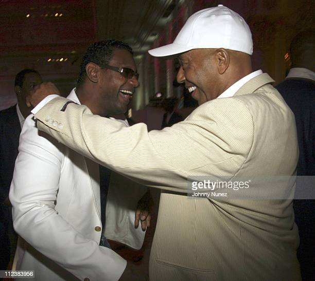 Sammy Sosa and Russell Simmons during Russell Simmons' 2nd Annual Art for Life Benefit at Mar a Lago - Day 2 at Mar a Lago in Palm Beach, Florida,...