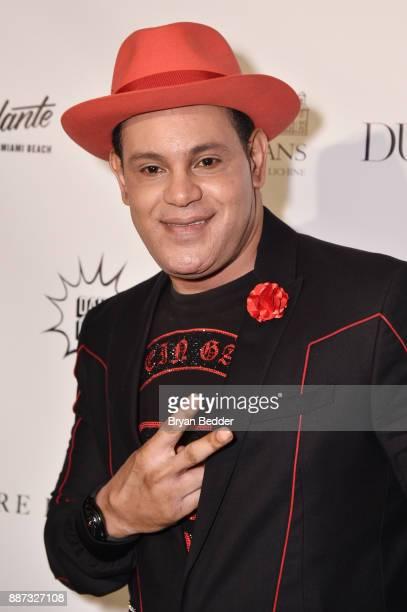 Sammy Sosa attends DuJour's Jason Binn And WellNEST Celebrate Miami Beach's Art Basel KickOff at The Confidante on December 6 2017 in Miami Beach...