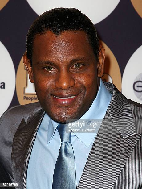 """Sammy Sosa attends People En Espanol's """"50 Most Beautiful"""" event at The Edison Ballroom on May 13, 2009 in New York City."""