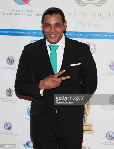 Sammy Sosa attends the 2012 South-South Awards at The Waldorf=Astoria on September 23, 2012 in New York City.