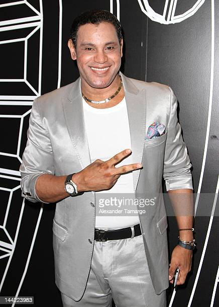 Sammy Sosa attends the Mana concert at AmericanAirlines Arena on May 11, 2012 in Miami, Florida.