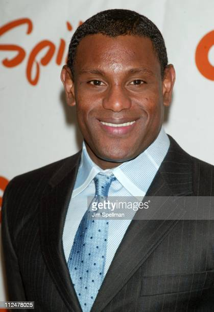 Sammy Sosa during Spike TV Presents the 2003 GQ Men of the Year Awards - Press Room at The Regent Wall Street in New York City, New York, United...