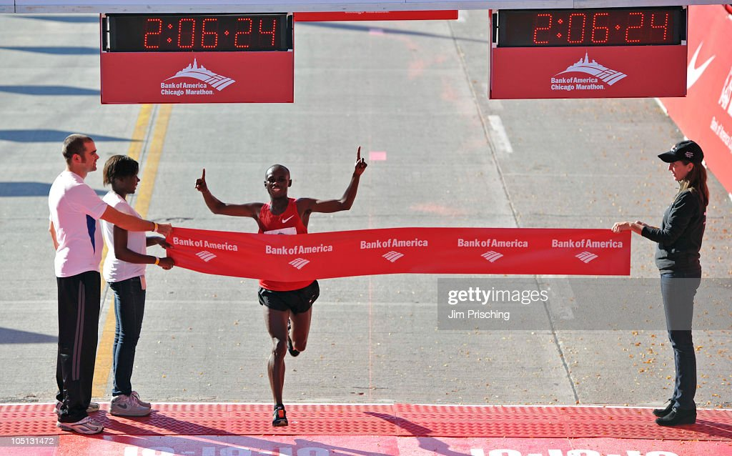 Bank of America Chicago Marathon : News Photo