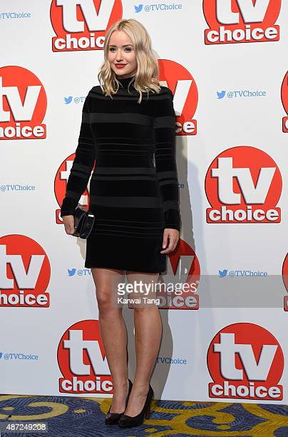 Sammy Winward attends the TV Choice Awards 2015 at Hilton Park Lane on September 7 2015 in London England