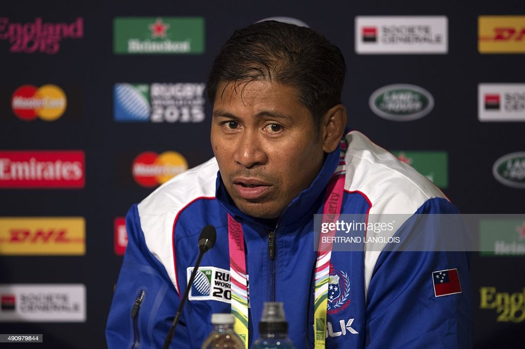 RUGBYU-WC-2015-SAM-PRESSER : News Photo