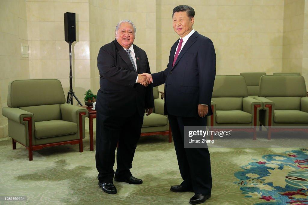 President Xi Jinping Meets Presidents Of Serbia, Estonia, Latvia & Samoa