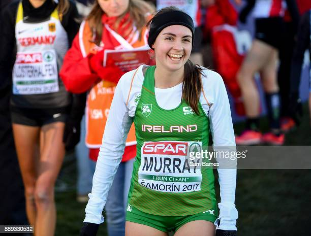 Samorin Slovakia 10 December 2017 Bethanie Murray of Ireland following the U23 Women's event during the European Cross Country Championships 2017 at...
