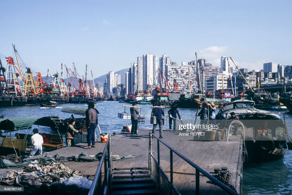 Port De Yau Ma Tei A Hong Kong Pictures Getty Images