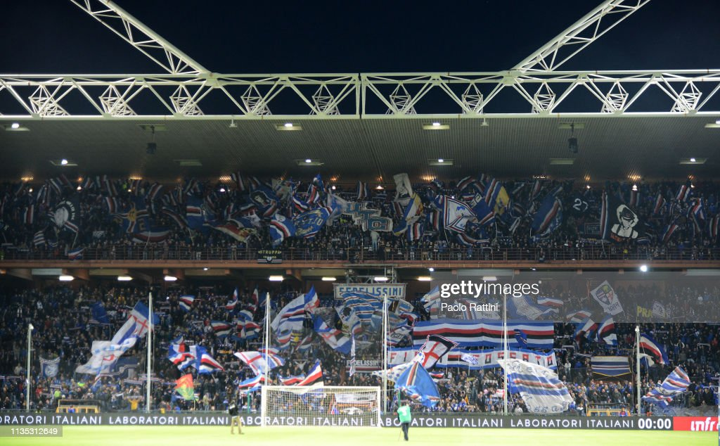 UC Sampdoria v AS Roma - Serie A : News Photo