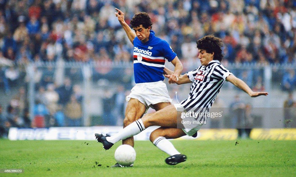 Gianluca Vialli  UC Sampdoria : Foto di attualità