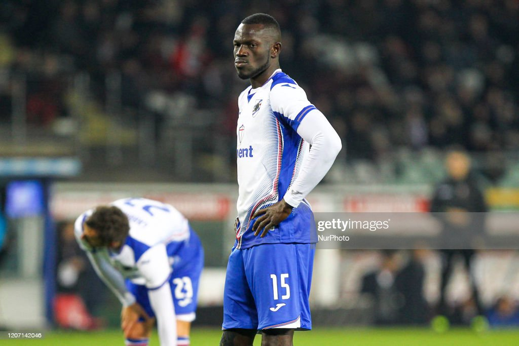 UC Sampdoria Players Tested Positive For COVID-19 : News Photo