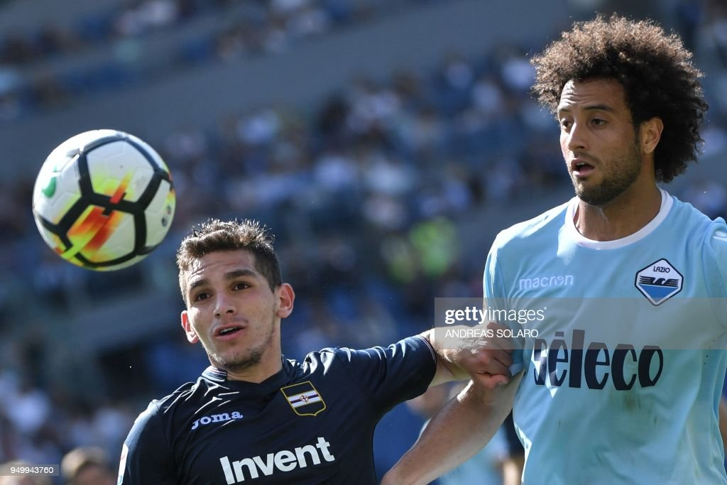 FBL-ITA-SERIE A-LAZIO-SAMPDORIA : News Photo