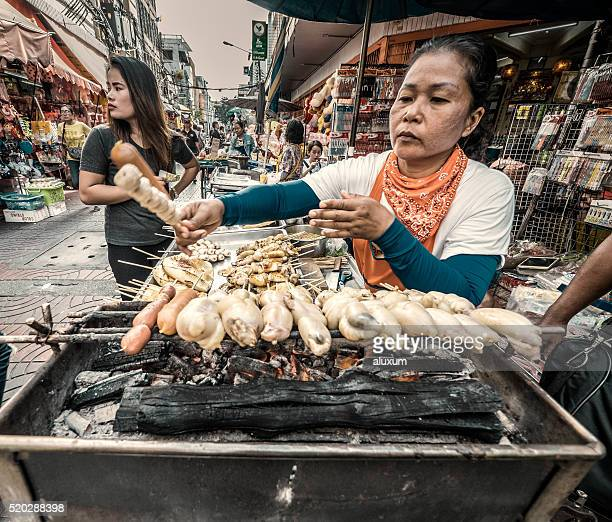 Sampeng Lane market in Chinatown Bangkok