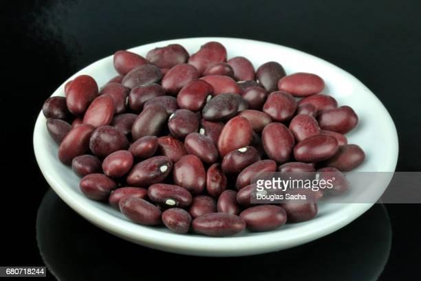 Sample dish of Red Chili Beans (Phaseolus vulgaris)