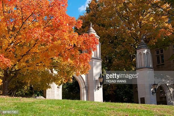 CONTENT] Sample Gate at Indiana University Bloomington in fall
