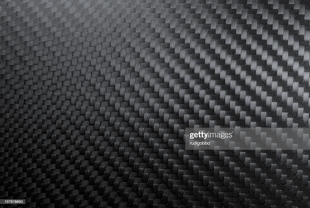 A Sample Illustration Of A Woven Carbon Fiber Stock Photo