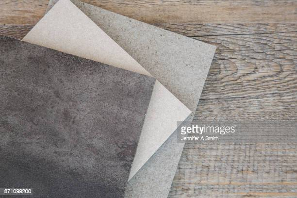 samples of floor tiles - ceramic stock photos and pictures