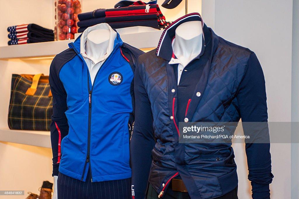 Ryder Cup - Ryder Cup Uniforms Ralph Lauren : News Photo