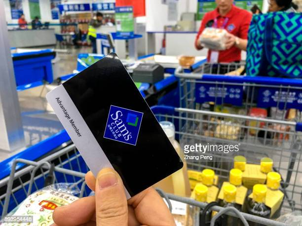 Sam's Club membership card. At present, three of the top five Sams Club stores in the world are in China. Distributed in the high-income and densely...