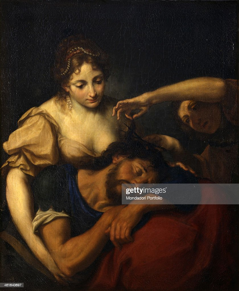 Samson And Delilah After Stefano Maria Legnani Also Known As Legnanino End Of 17th