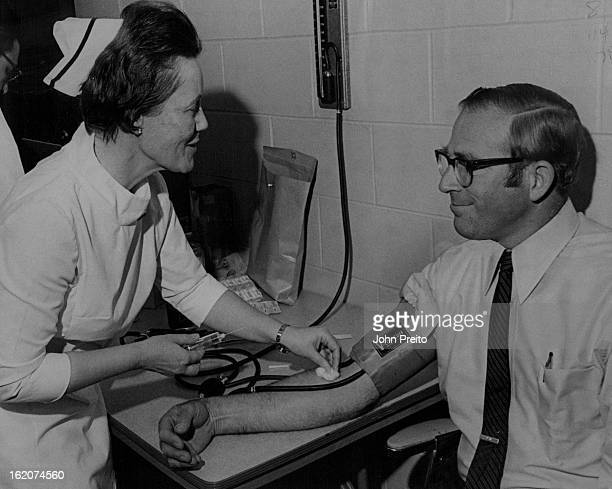 FEB 23 1971 FEB 24 1971 Samsonite Copr Aids Heart Test As part of Colorado Heart Month Samsonite Corp's luggage division employes participated in a...