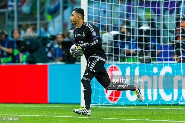Samstag Champions League Finale in Mailand Saison 2015/2016 Atletico Madrid Real Madrid Torwart Keylor Navas