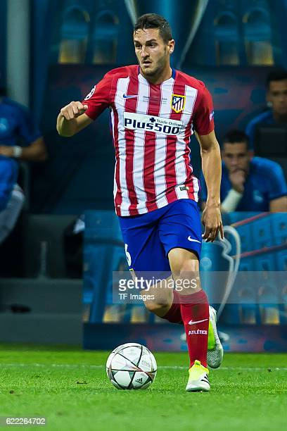 Samstag Champions League Finale in Mailand Saison 2015/2016 Atletico Madrid Real Madrid Stefan Savic