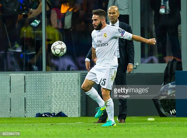 Samstag Champions League Finale in Mailand Saison 2015/2016 Atletico Madrid Real Madrid Dani Carvajal