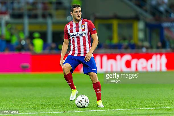 Samstag Champions League Finale in Mailand Saison 2015/2016 Atletico Madrid Real Madrid Koke