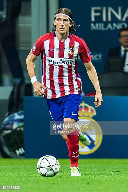 Samstag Champions League Finale in Mailand Saison 2015/2016 Atletico Madrid Real Madrid Filipe Luis