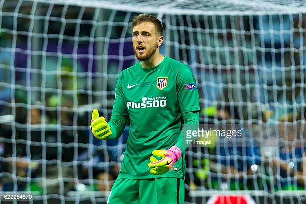 Samstag Champions League Finale in Mailand Saison 2015/2016 Atletico Madrid Real Madrid Torwart Jan Oblak