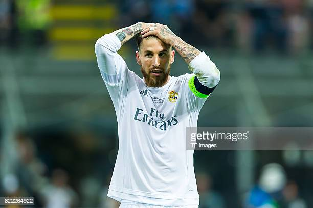 Samstag Champions League Finale in Mailand Saison 2015/2016 Atletico Madrid Real Madrid Sergio Ramos
