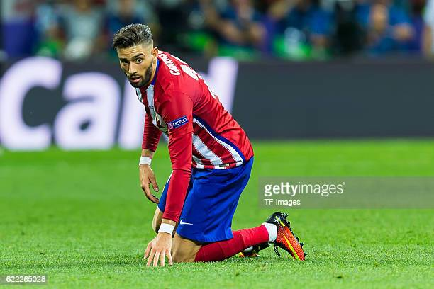Samstag Champions League Finale in Mailand Saison 2015/2016 Atletico Madrid Real Madrid Yannick Carrasco