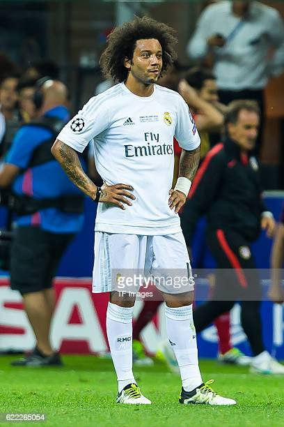 Samstag Champions League Finale in Mailand Saison 2015/2016 Atletico Madrid Real Madrid Marcelo
