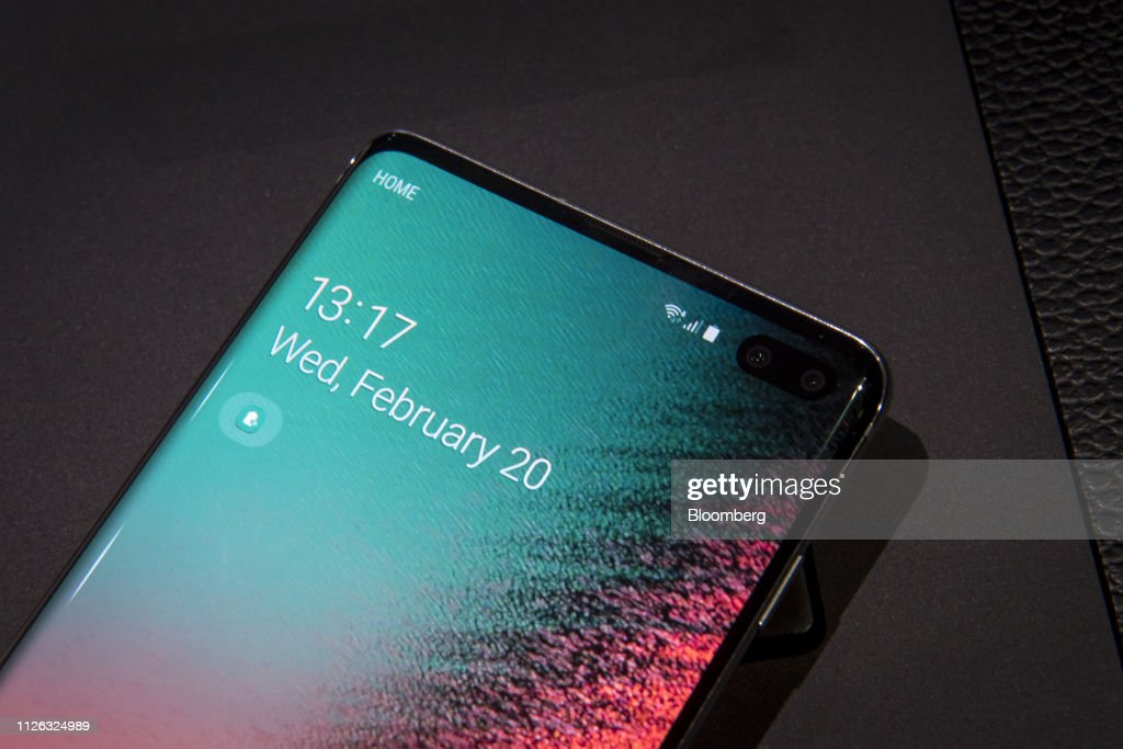 Inside The Samsung Electronics Co. Unpacked 2019 Product Launch Event : News Photo