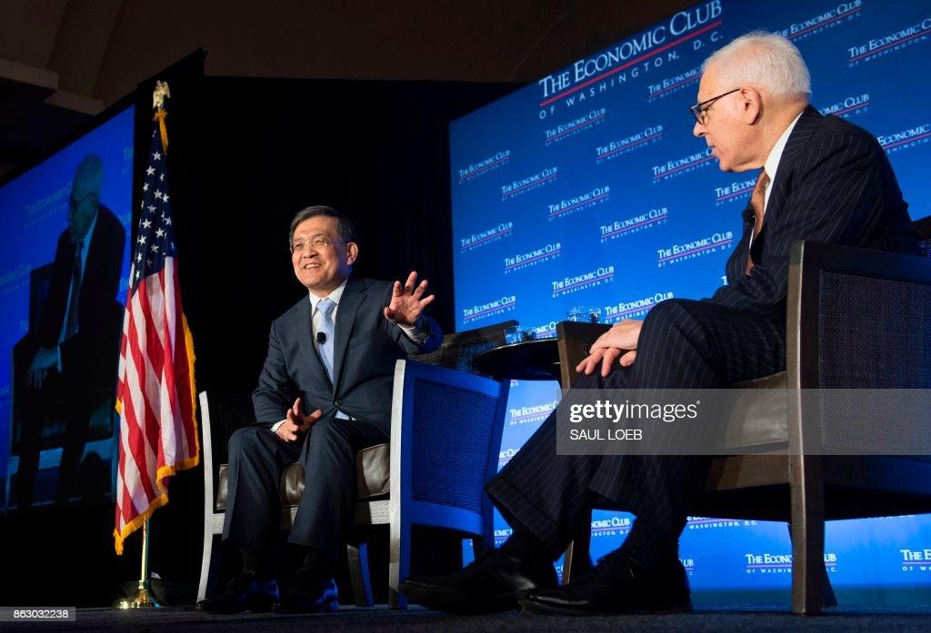 US-ECONOMY-SAMSUNG-KWON : News Photo