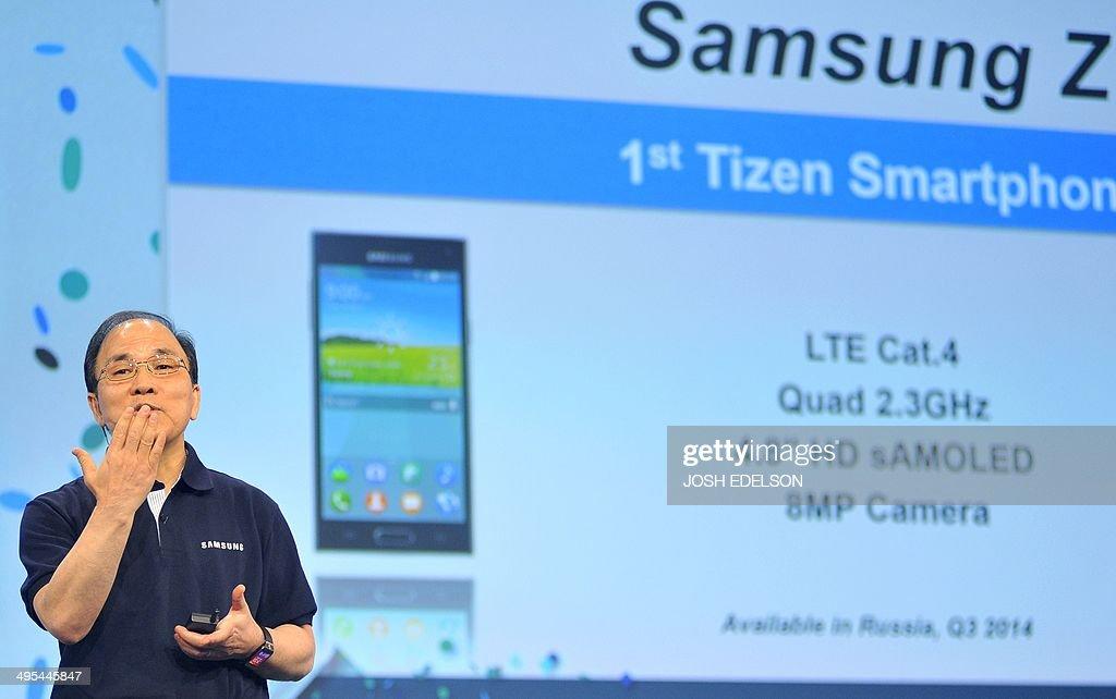 US-IT-TIZEN-SAMSUNG : News Photo