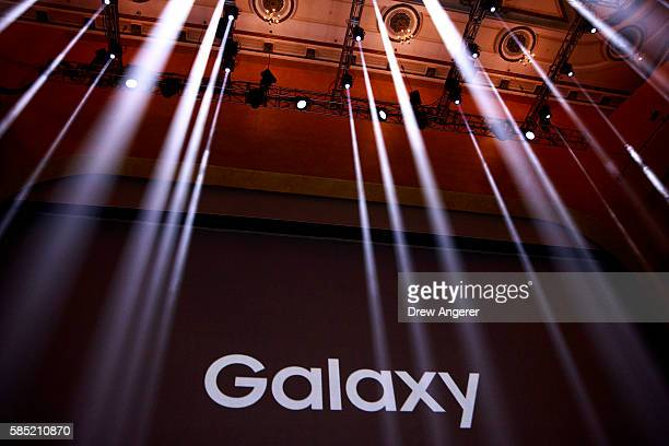 samsung unveils its new galaxy note 7 ストックフォトと画像 getty