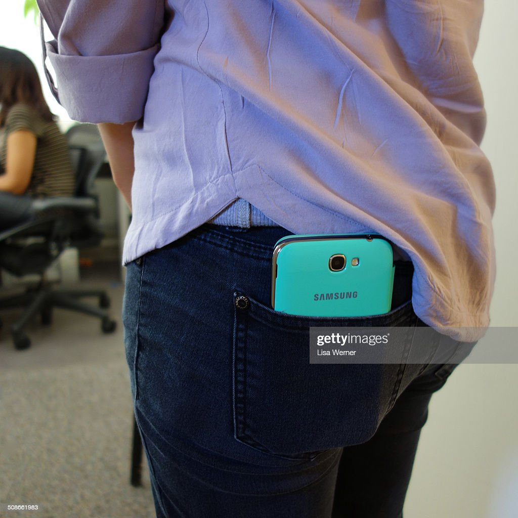 A Samsung Galaxy Note 2 is so large it barely fits in a pocket. Part phone and part tablet, they are known as 'phaplets'.