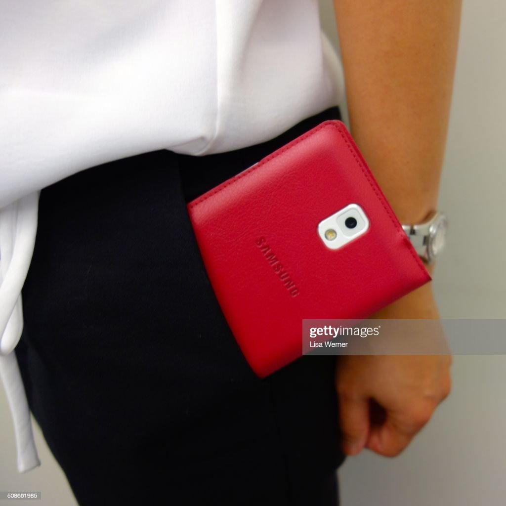 A Samsung Galaxy Note 3 is so large it barely fits in a pocket. Part phone and part tablet, they are known as 'phaplets'.