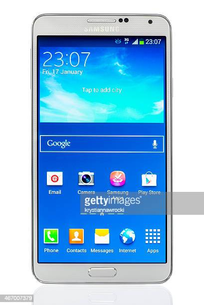 samsung galaxy note 3 - samsung galaxy note stock pictures, royalty-free photos & images