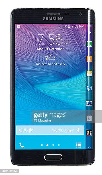 A Samsung Galaxy Note Edge smartphone taken on November 25 2014