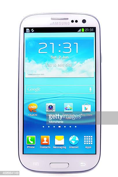 samsung galaxy s 3 - samsung galaxy s stock pictures, royalty-free photos & images