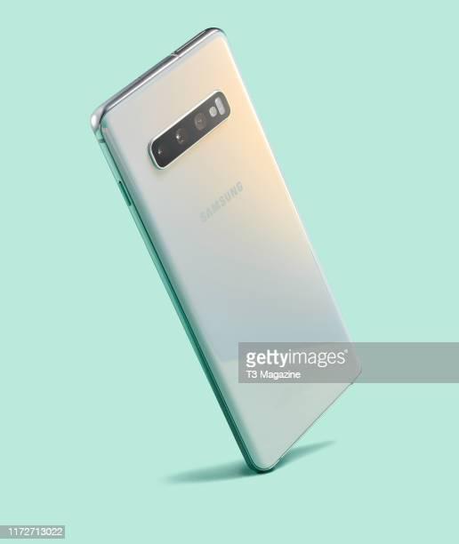 A Samsung Galaxy S10 smartphone taken on March 20 2019