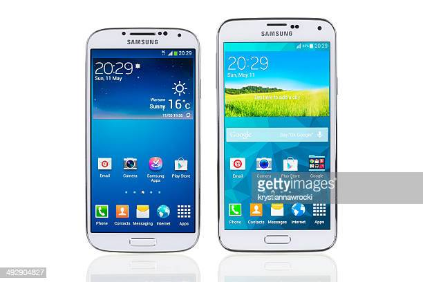 Samsung Galaxy S4 and S5
