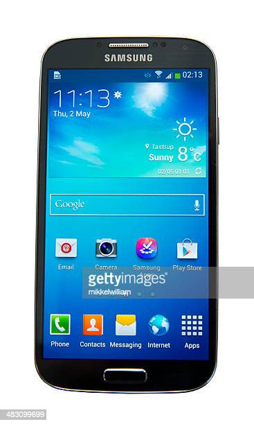 samsung galaxy s4 - samsung galaxy s stock pictures, royalty-free photos & images