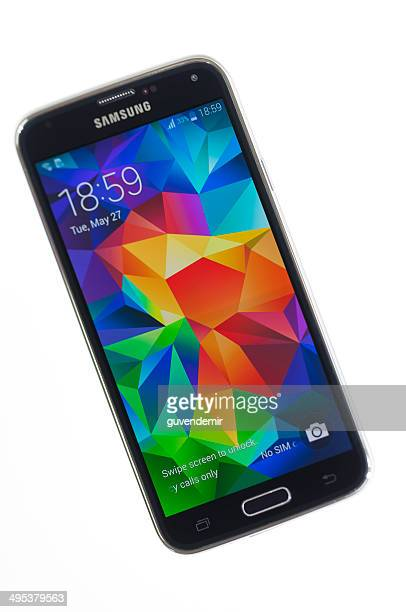 samsung galaxy s5 - samsung galaxy s stock pictures, royalty-free photos & images